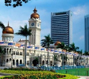Обзорный тур по Куала-Лумпуру в любое время суток за 4 часа (подходит для транзитных туристов)